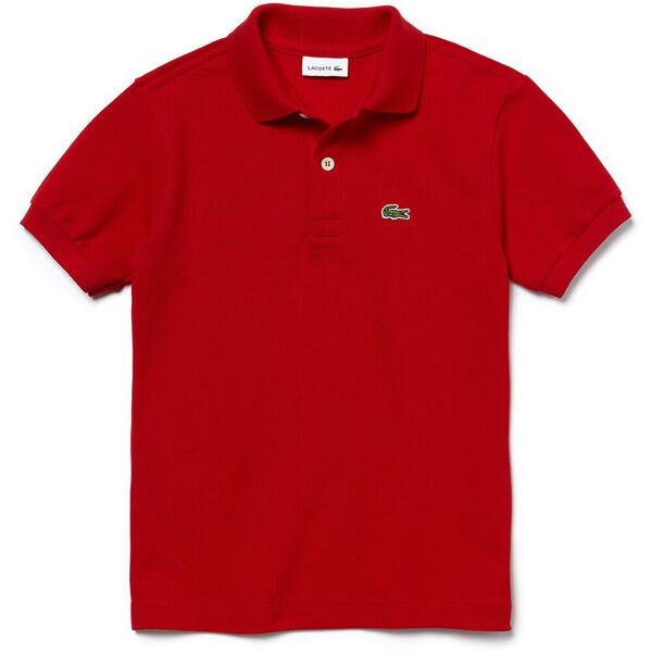Classic Kids Polo, RED, hi-res